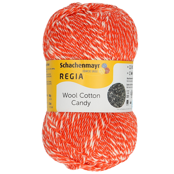 Regia Wool Cotton Candy, 02602 Grapefruit