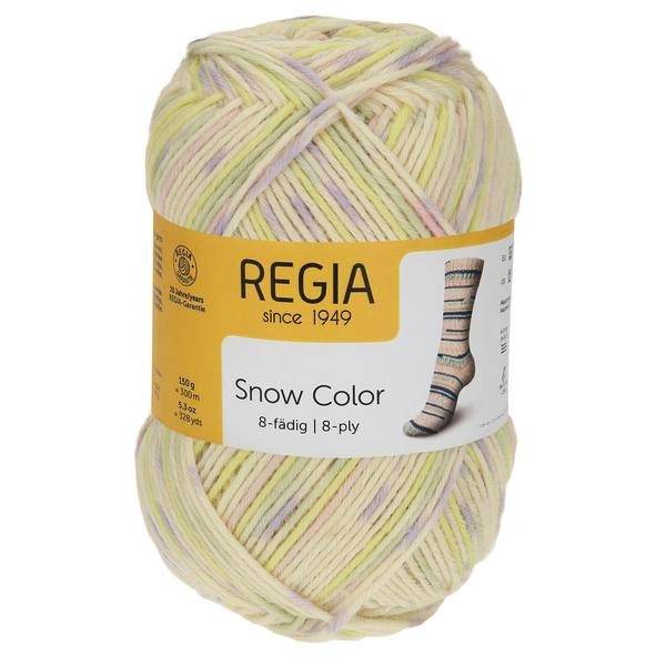 Regia Snow Color 8-ply, 08112