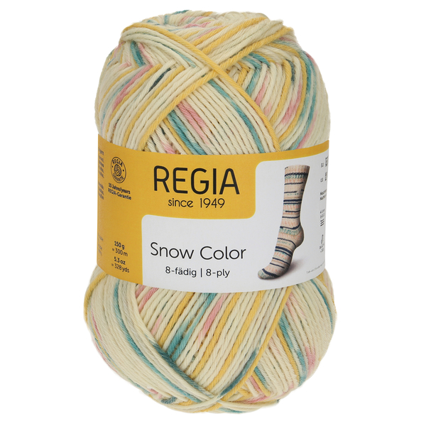 Regia Snow Color 8-ply, 08113