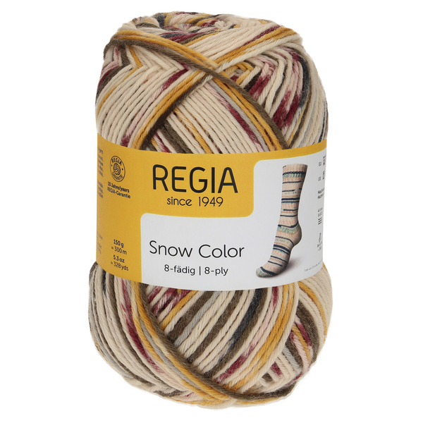 Regia Snow Color 8-ply, 08117