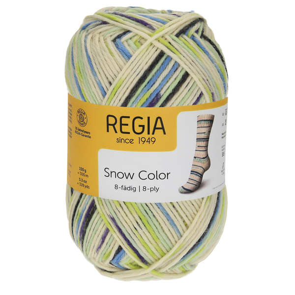 Regia Snow Color 8-ply, 08114