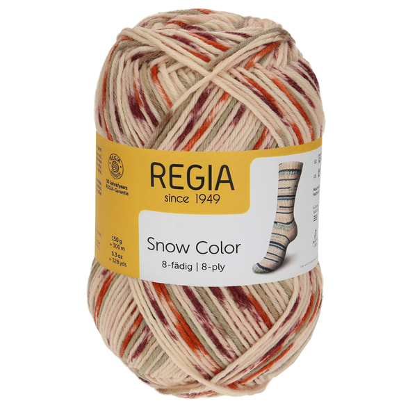 Regia Snow Color 8-ply, 08116