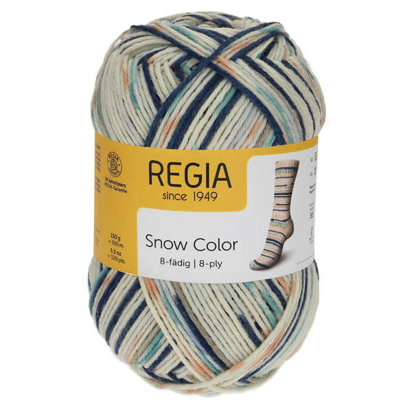 Regia Snow Color 8-ply, 08115